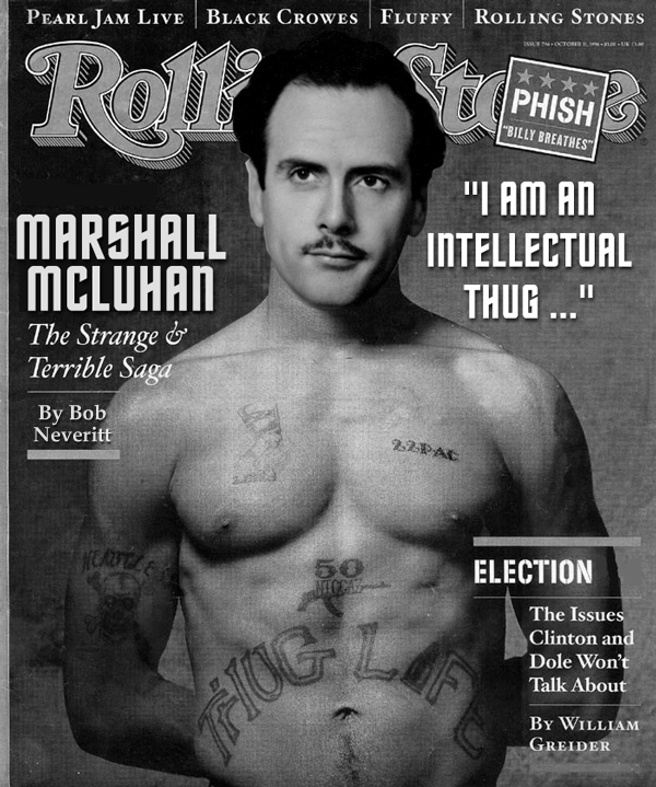 marshall mcluhan essays Media studies has been catching up with mcluhan over the last 50 years these essays are drawn from the most productive quarter-century of his career (1952-1978), and.